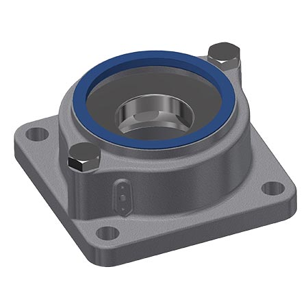 axial thrust bearing for freezing tower