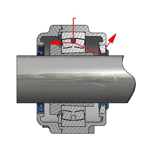 Examples of grease diagrams using CS seals