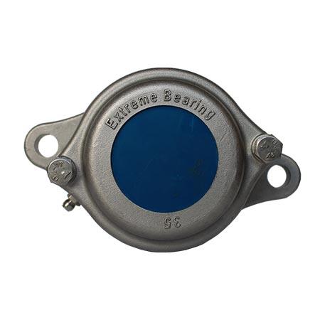 EXW 2-bolt round flange bearing units