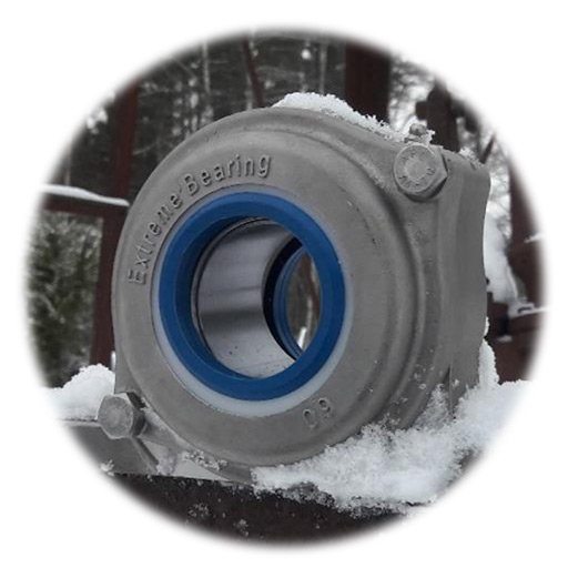 Cojinete de nieve