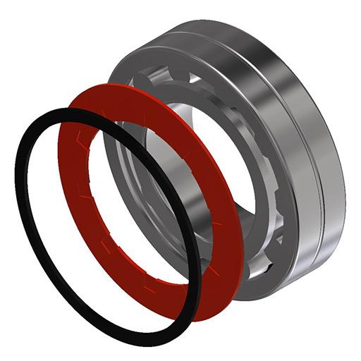 Type E bearing seals